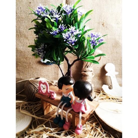 Çiçek Ağacının Altındaki Aşıklar Biblo