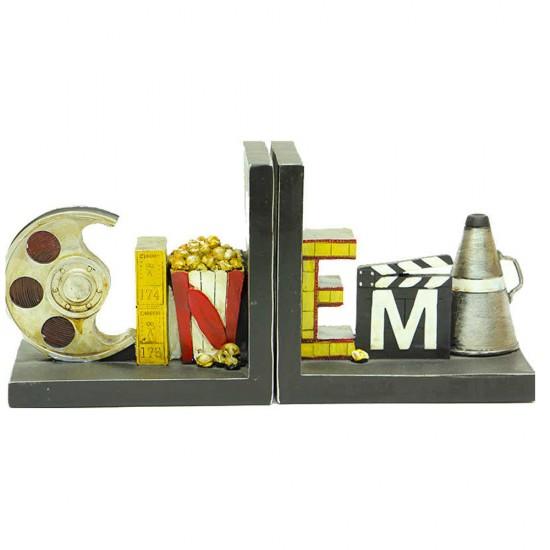 Cinema Temalı Kitap Stoper / Tutucu