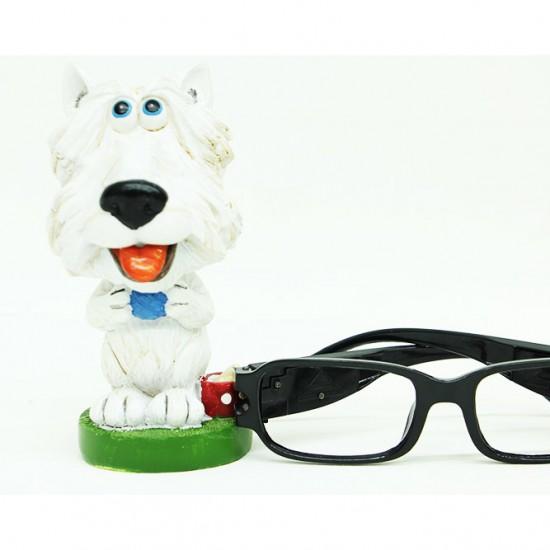 Dekoratif Gözlük Standı Köpek Görünümlü