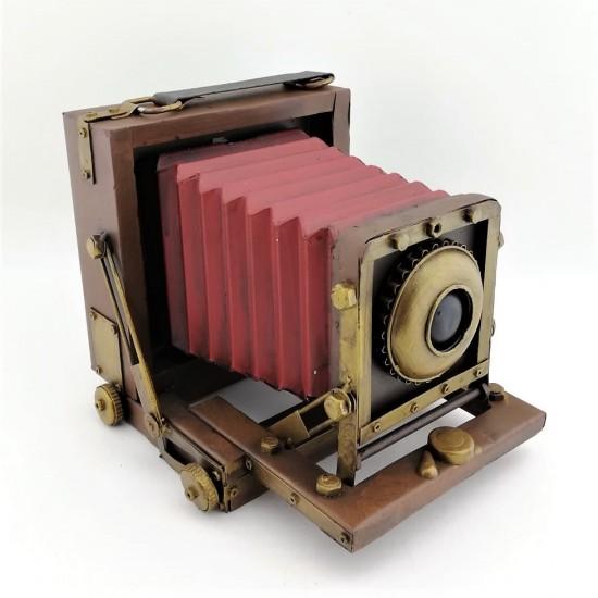 Dekoratif Metal Nostaljik Fotoğraf Makinesi