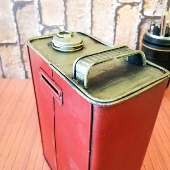 Dekoratif Motor Oil Kumbara