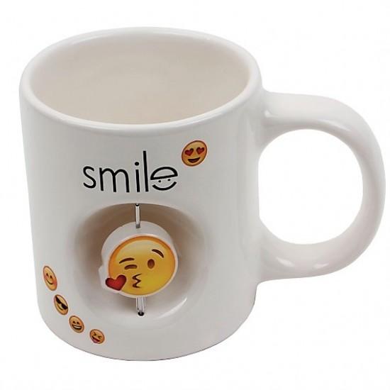 Dekoratif Stres Kupa Smile