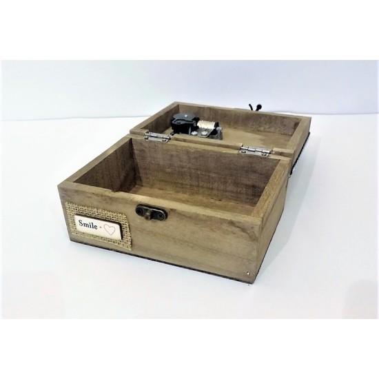 Ütü temalı müzik kutusu model 1