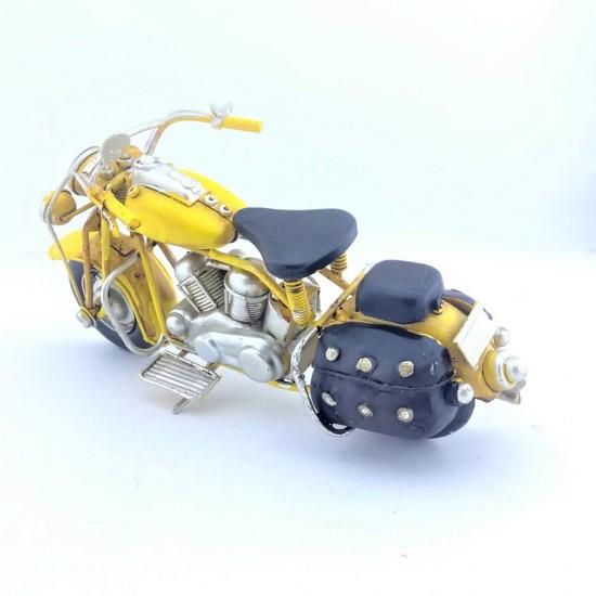 Elyapımı  Metal Sarı  Motorsiklet