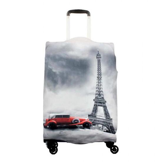 Eyfel Kulesi  Temalı My Luggage Valiz Kılıfı