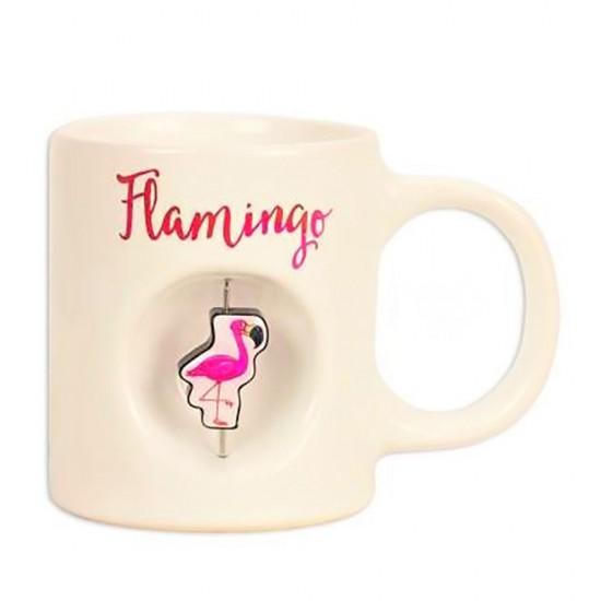 Flamingo Temalı Stres Kupa Bardak
