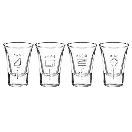 Formüller 4'lü Shot Bardak Set