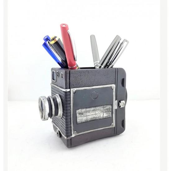 Fotoğraf Makinesi Tasarımlı Kalemlik