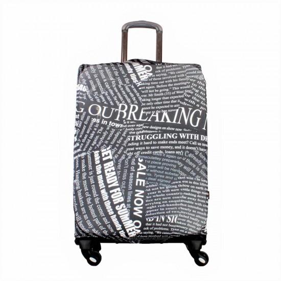 Gazete Temalı My Luggage Valiz Kılıfı