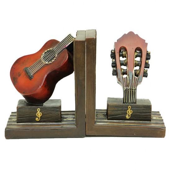 Gitar Temalı Kitap Stoper / Tutucu