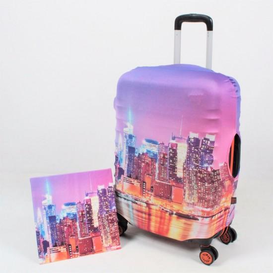 Gökdelen Şehir Temalı My Luggage Valiz Kılıfı