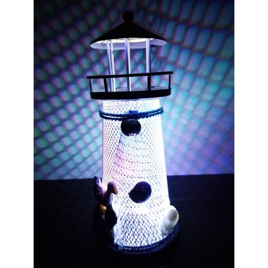 Işıklı Dekoratif Deniz Feneri