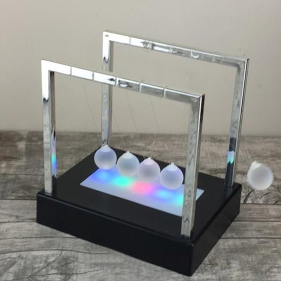 Işıklı Dekoratif Kinetik  Masa Üstü Stres Topları