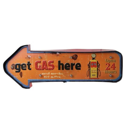 Işıklı Gas Here Yön Tabelası