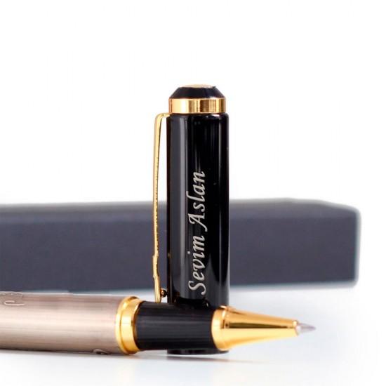 İsme Özel Besmele Kabartmalı Tükenmez Kalem