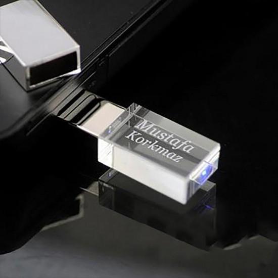 İsme Özel LED USB Bellek Işıklı