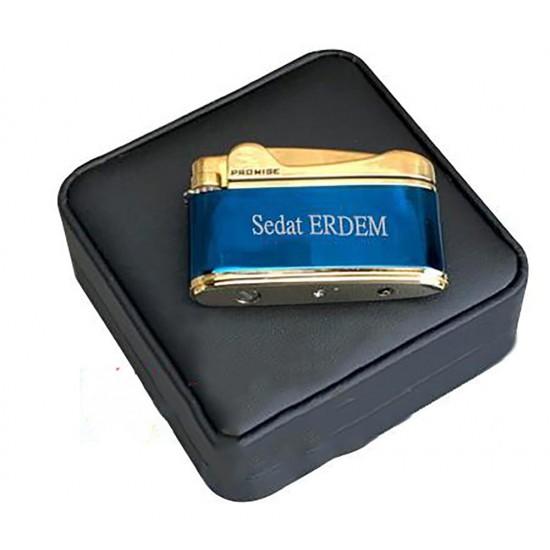 İsme Özel Promise İbole Modeli Çakmak (Mavi)