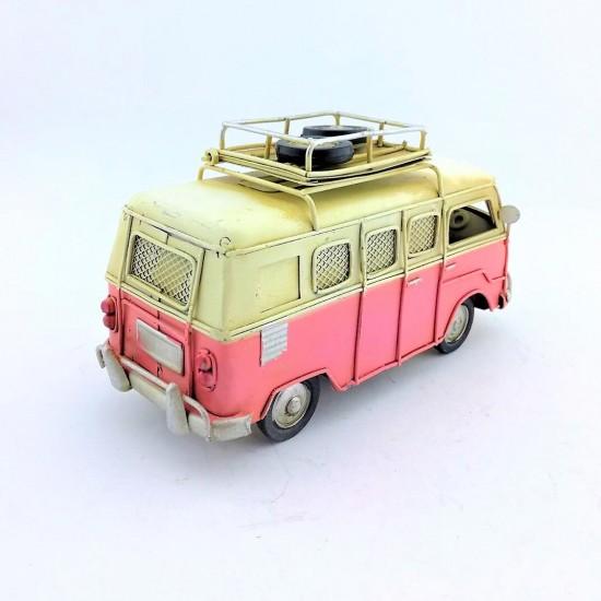 İsme Özel Vosvos Minibüs (PEMBE)