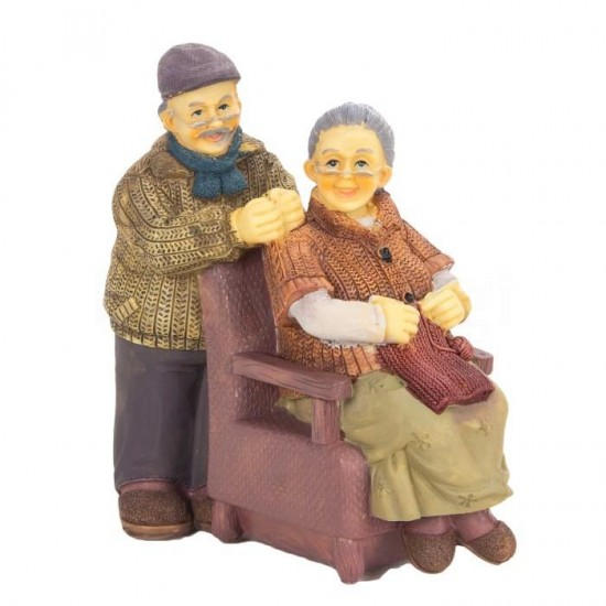Koltukta Oturan Nine Dede Tasarımlı Kumbara model 2