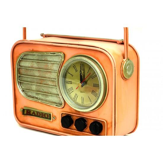 Kumbaralı Metal Radyo Saat