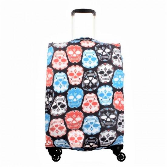 Kuru Kafa Temalı My Luggage Valiz Kılıfı