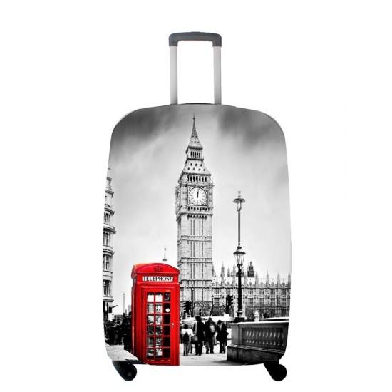 Londra Temalı My Luggage Valiz Kılıfı