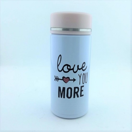 Love More Temalı Termos