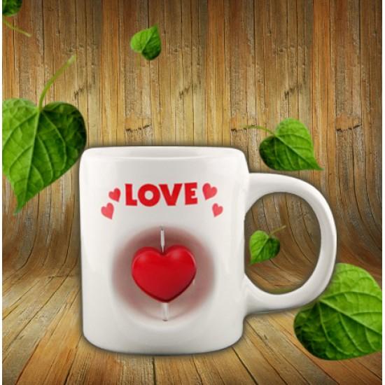 Love Temalı Kupa Bardak