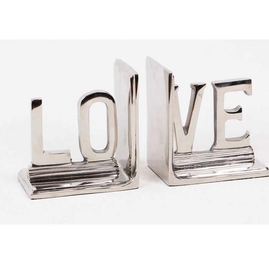 Love Yazısı Kitap Stoper / Tutucu