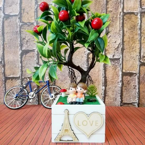 Love eyfel kulesi temalı biblo