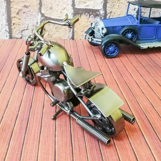 Metal Dekoratif Chopper Motor