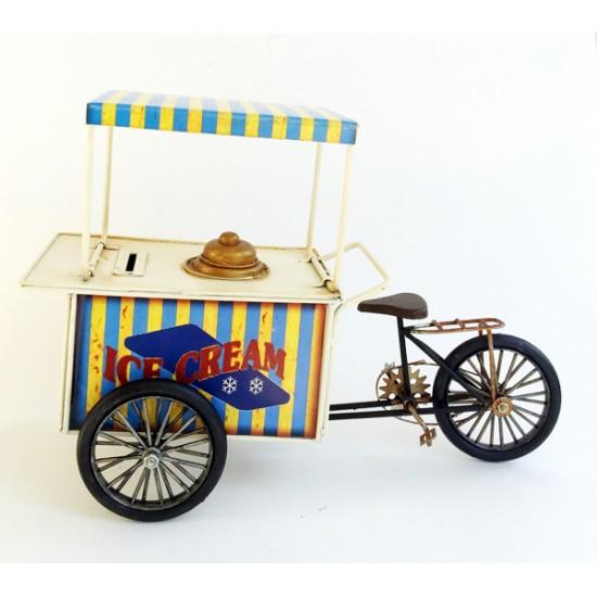 Metal Dondurmacı Arabası