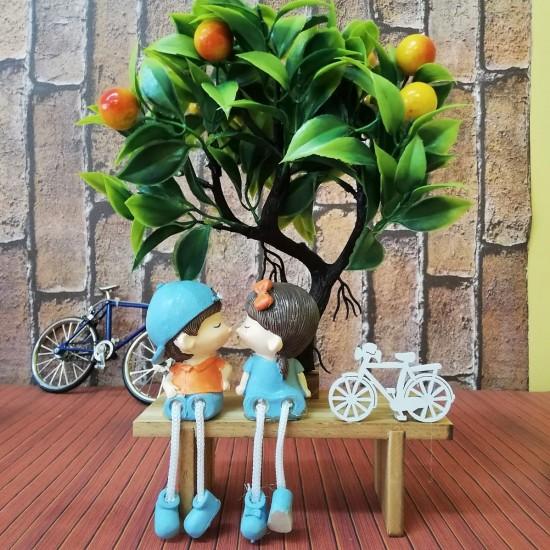 Meyve Ağacının Altındaki Aşıklar Biblo