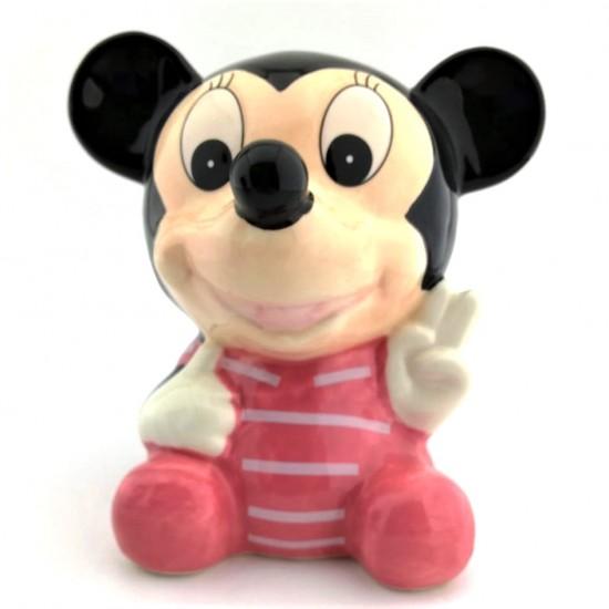 Mickey Mouse Görünümlü Seramik Kumbara