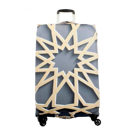 Motif Temalı My Luggage Valiz Kılıfı