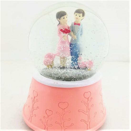 Mutlu Aşıklar Kar Küresi Mega Boy