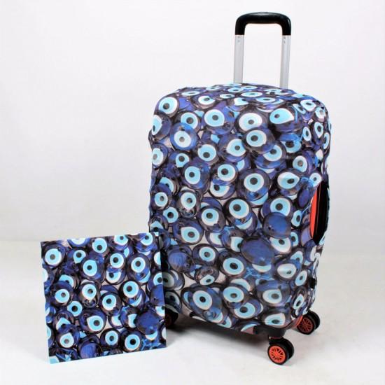 Nazarlık Temalı My Luggage Valiz Kılıfı