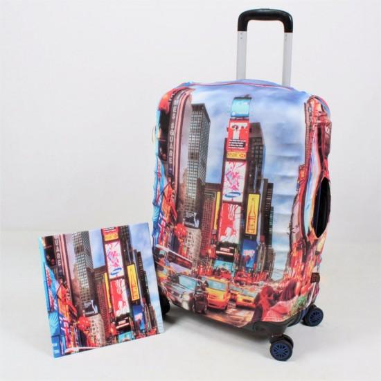 Newyork Şehir Temalı My Luggage Valiz Kılıfı