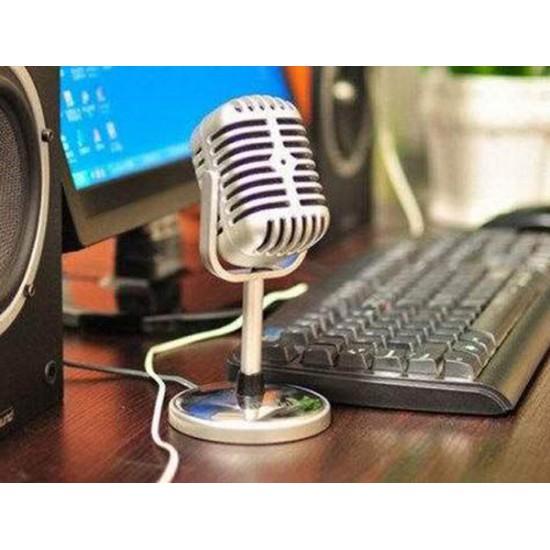 Nostaljik Gerçek Mikrofon Karaoke