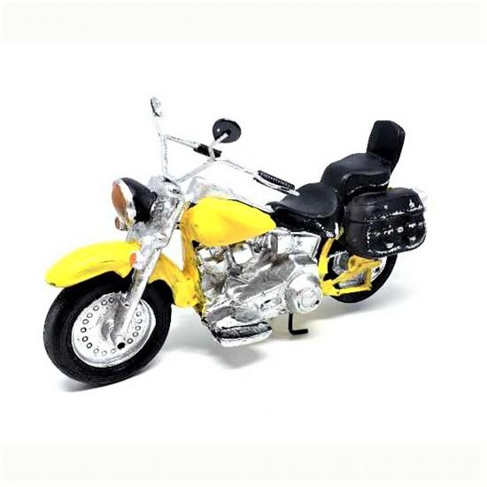 Nostaljik Motorsiklet Tasarımlı Dekoratif Masa Üstü Biblo