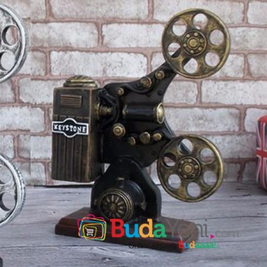 Nostaljik Projektör Şeklinde Kumbara Model 2