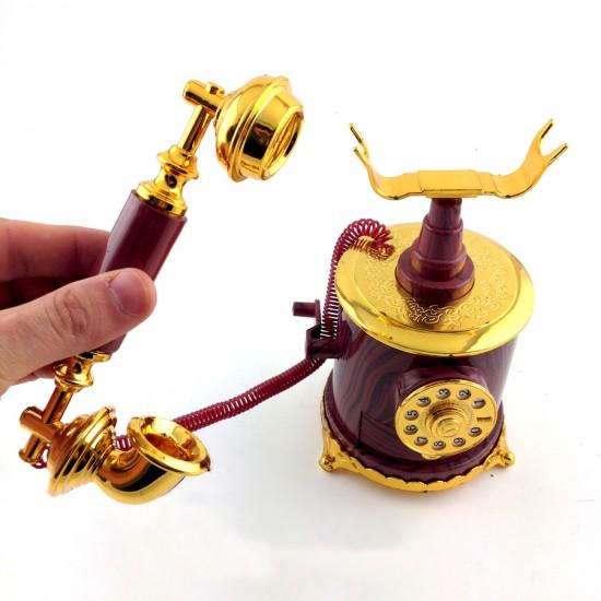 Nostaljik Telefon Görünümlü Müzik Kutusu Model 1