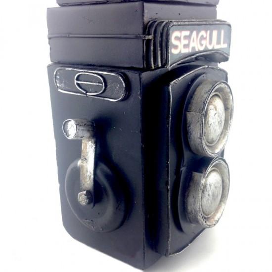 Nostaljk Fotoğraf Makinasi Görünümlü Kumbara