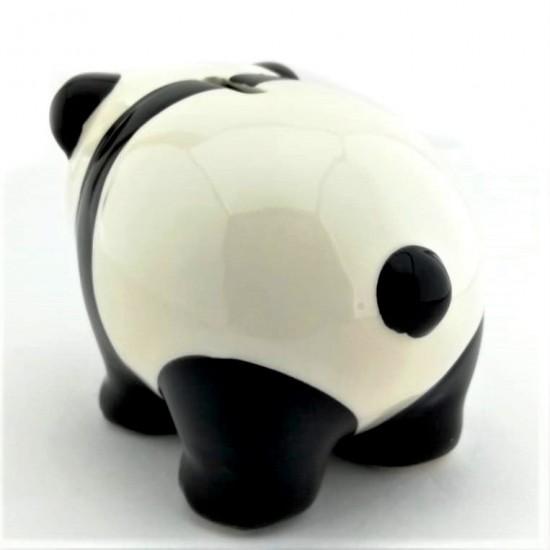Panda Görünümlü Seramik Kumbara
