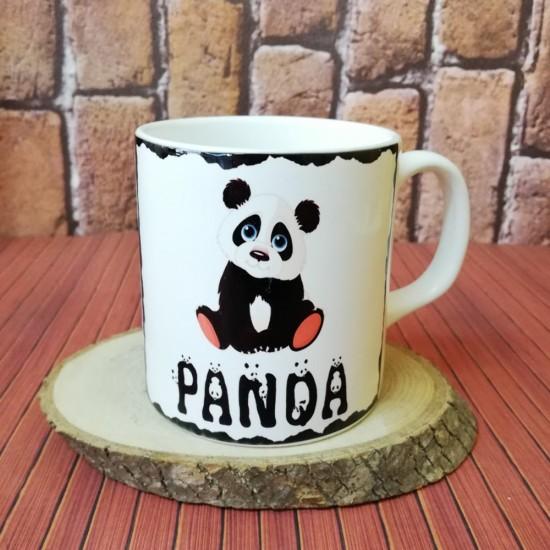 Panda Temalı Kupa Bardak
