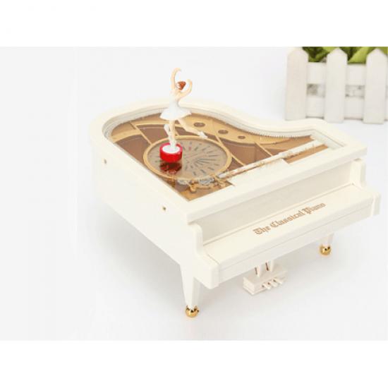 Piyano Şeklinde Müzik Kutusu