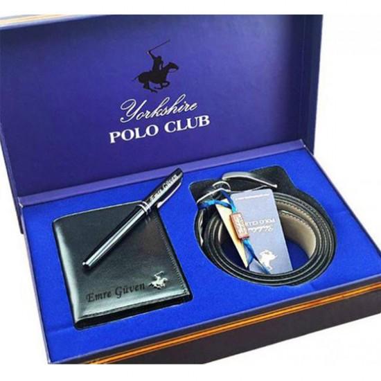 Polo Club Cüzdan & Kemer Seti