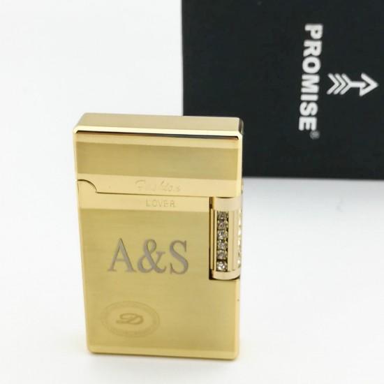 Promise Dupont Modeli Çakmak (Altın)