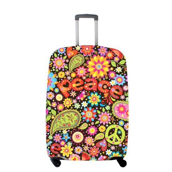 Renkli Çiçek Desenli Temalı My Luggage Valiz Kılıfı