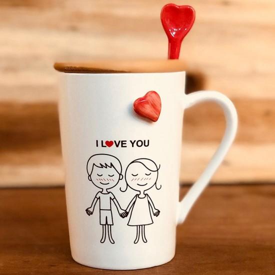 Seni Seviyorum Özel Tasarım Aşk Kupası